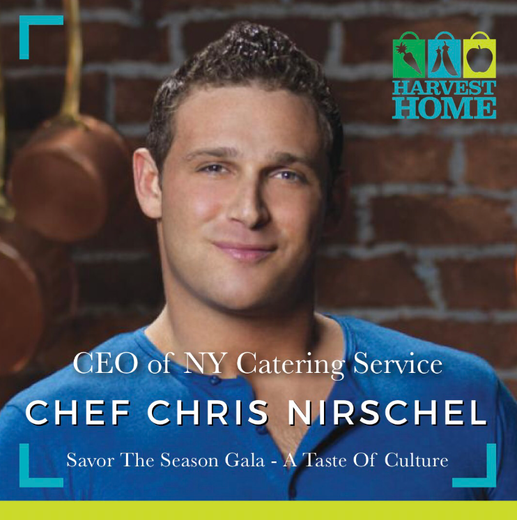 Chef Chris will rock your grill!