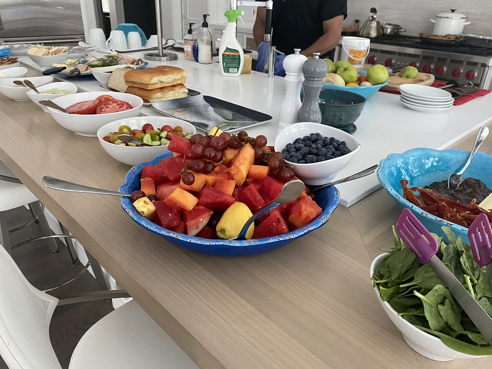 NY Catering Services:  Everything is prepared fresh on-site!