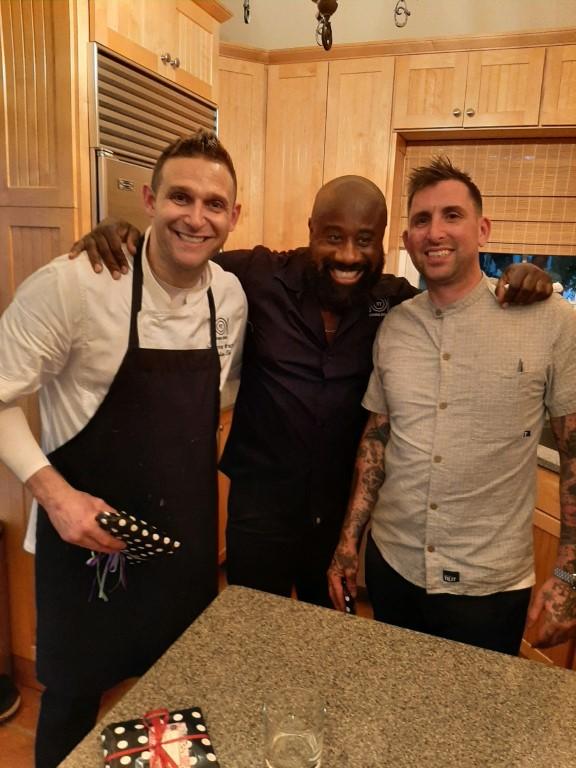 Chef Chris Nirschel & the hospitality team